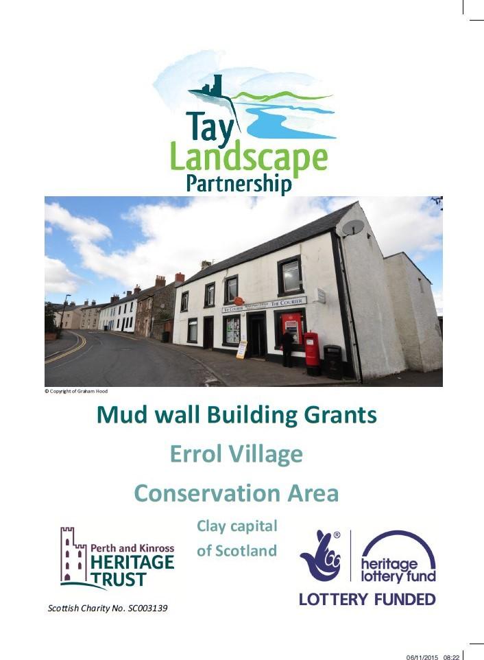 Errol mudwal leaflet cover