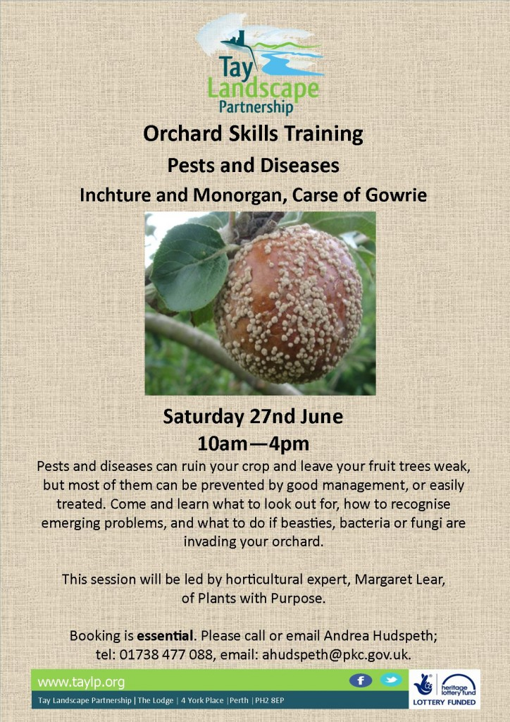 Orchard Skills Training Pests and Diseases 27.06.2015