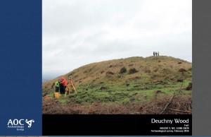 Deuchny Hillfort Report Cover