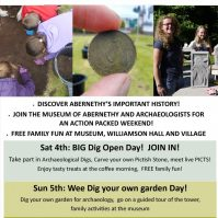 Abernethy Wee Big Dig – Free event Sat 4th and Sun 5th June!