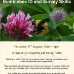 come and learn how to identify and look for UK bumblebees