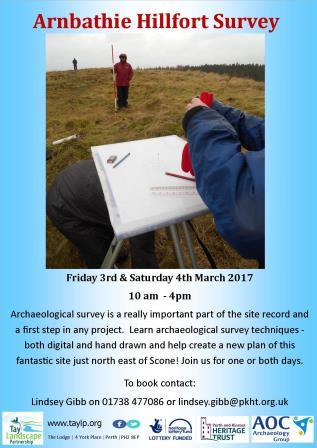 Arnbathie Hillfort Survey