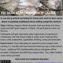 Lime Pointing workshop 26th May