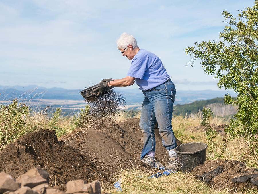 Castlelaw Hillfort – The Big Dig! Abernethy