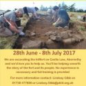 Castlelaw Hillfort – The Big Dig! Abernethy  28 June – 8 July 2017