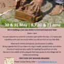 Make it in Mud! Help build a new clay shelter in Errol in May & June