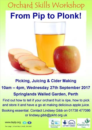 From Pip to Plonk – Orchard Skills Workshop
