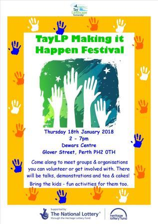 TayLP Making it Happen Festival – 18th January 2018 – Perth – Just drop in!
