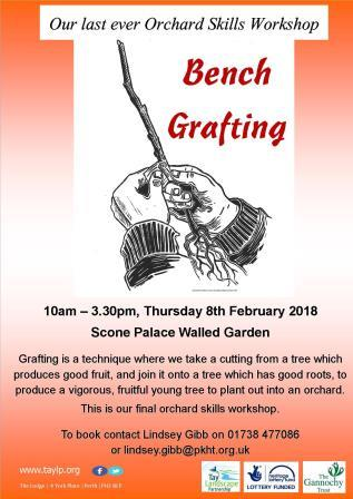 Bench Grafting – 8th February 2018 – Scone – Spaces available
